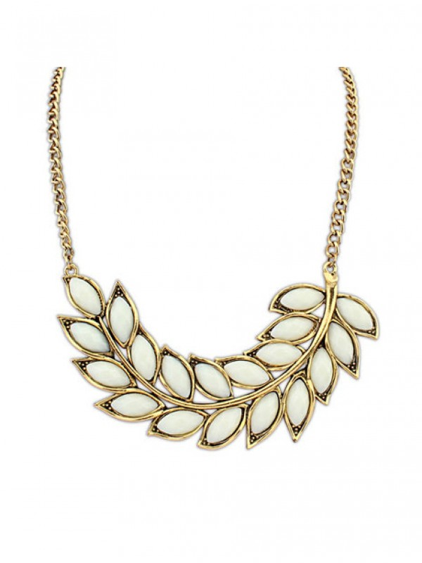 Oeste Nupcial Bohemia Tree leaf Collar
