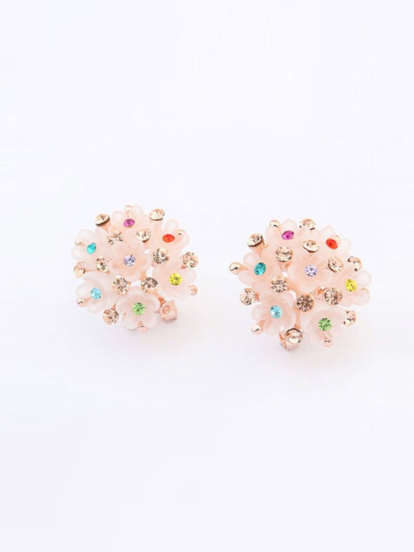 Oeste All-match Floret Ear Clip