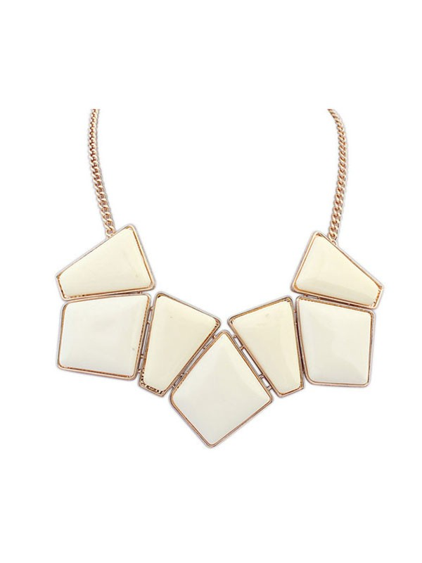 Oeste Geometry Blocks All-match Collar